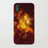 gold dots iPhone & iPod Cases featuring Dots by Eponine