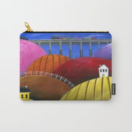 Hilly Hello Carry-All Pouch