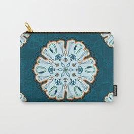Trad Climbing Mandala Carry-All Pouch