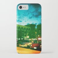 fargo iPhone & iPod Cases featuring Fargo City Nights Two, 2011 by Libby Walkup Photography