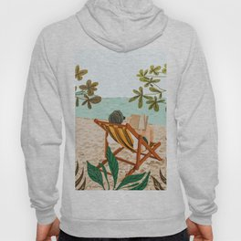 Vacay Book Club #illustration #tropical Hoody