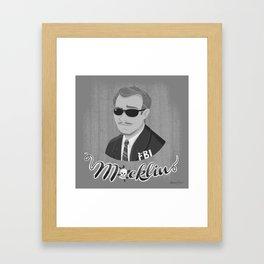 Burt Macklin Framed Art Print