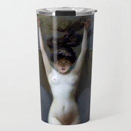 THE BAT WOMAN - ALBERT JOSEPH PENOT Travel Mug