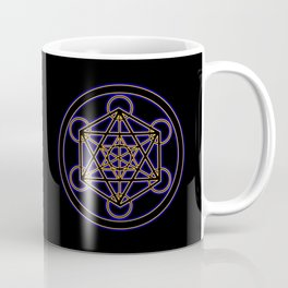 Metatron Blue Gold Coffee Mug