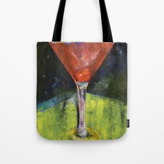 Comfortable Cherry Martini Tote Bag