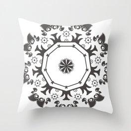 Simetry Style Minimalism V.01 Throw Pillow