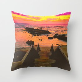 You Never Have To Chase What Wants To Stay. Throw Pillow