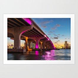 Miami, Florida Art Print