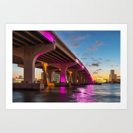 Miami, Florida Art Print