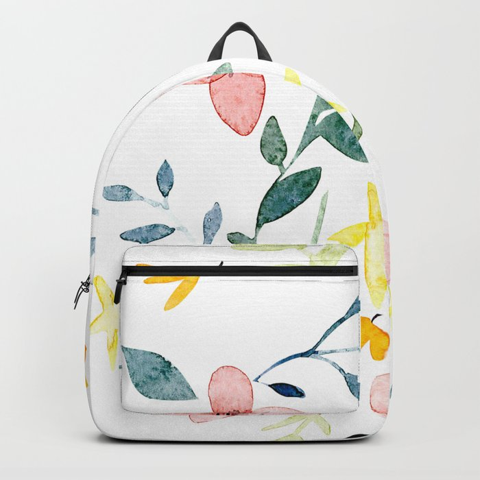 Watercolor Florals Backpack