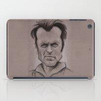 clint barton iPad Cases featuring Clint by chadizms