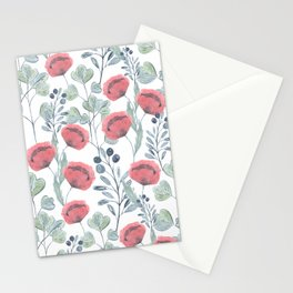 Delicate floral pattern. Stationery Cards