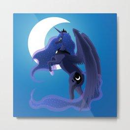Moonlight Princess Metal Print
