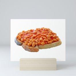 Beans on Toast Mini Art Print