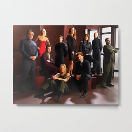 Adama and the Crew Metal Print