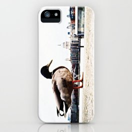 duckzilla iPhone Case