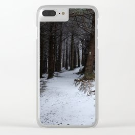Winter on the AT Clear iPhone Case