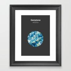 Gemstone - Adamantium Framed Art Print