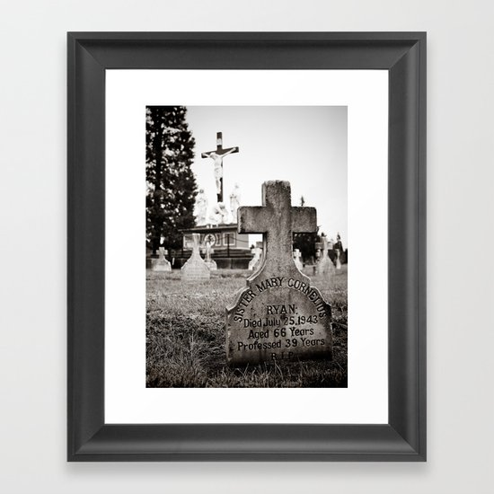 Sister Ryan Framed Art Print