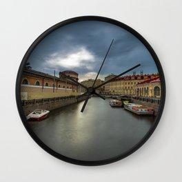 Ship Canal Wall Clock