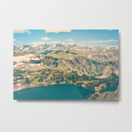 Beartooth Lakes Metal Print