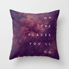 The Places You'll Go I Throw Pillow