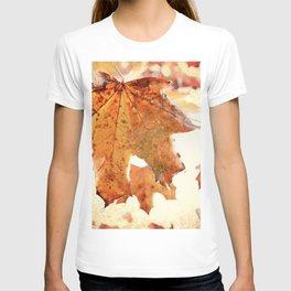 Sugar Coated Maples, Nostalgic fall home decor T-shirt