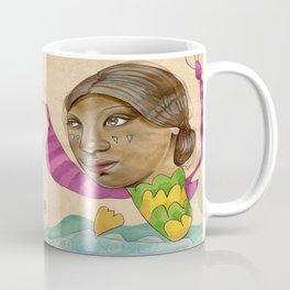 Crying Sea Monster Coffee Mug