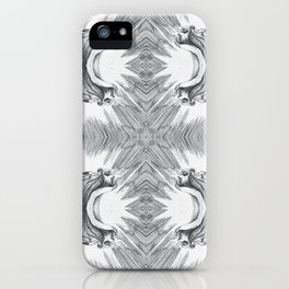 Two Angels 2 iPhone Case