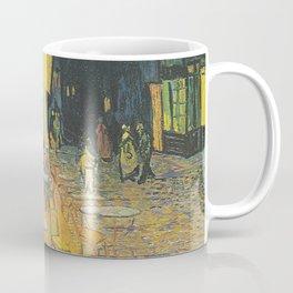 Cafe Terrace on the Place du Forum - Vincent van Gogh Coffee Mug