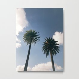Los Angeles California Palm Tree Dream Metal Print