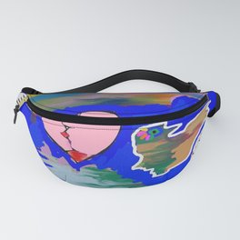 Peace and love Fanny Pack