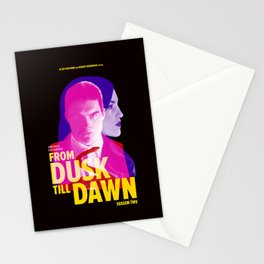 From Dusk Till Dawn II - Richie & Santanico Stationery Cards