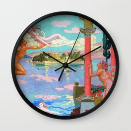 Zephyr Carries Psyche To The Island Of Bliss - Digital Remastered Edition Wall Clock