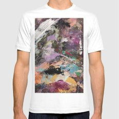 Painted Lady Mens Fitted Tee White MEDIUM