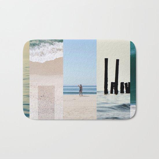Sea And Sun Bath Mat