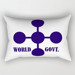 world government Rectangular Pillow