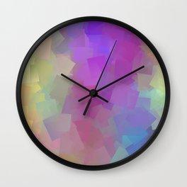 Cubes - Abstract Wall Clock