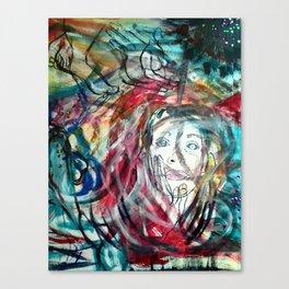 Chaotic Prose Canvas Print