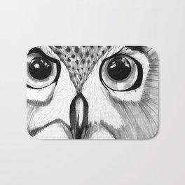 mysterious owl Bath Mat