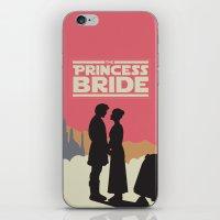 princess bride iPhone & iPod Skins featuring The Princess Bride by mattranzetta
