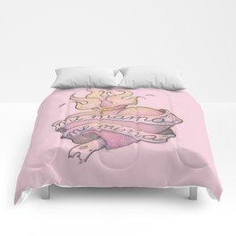 Mi mamá me mima (Rosa) Comforters