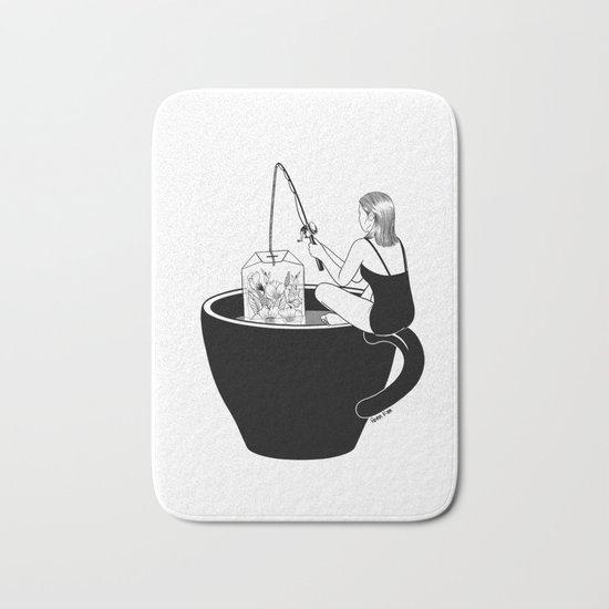 Laid-Back Time Bath Mat