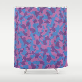 Girly Girl Camouflage Shower Curtain