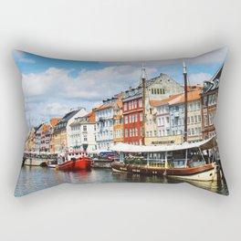 Nyhaven Canal Rectangular Pillow