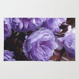 Light lilac Rose Lainie Rug