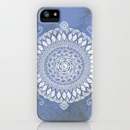 Paisley Moon Henna Mandala iPhone Case