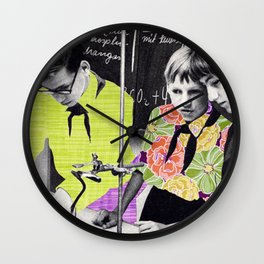 Jungpioniere (collboration with .dotbox) Wall Clock