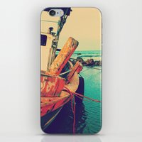 boat iPhone & iPod Skins featuring Boat by AJAN