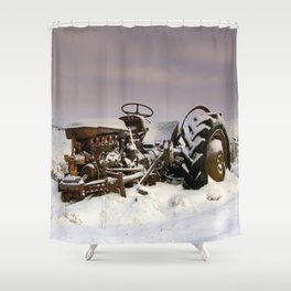 Fergie Yellow Belly Shower Curtain